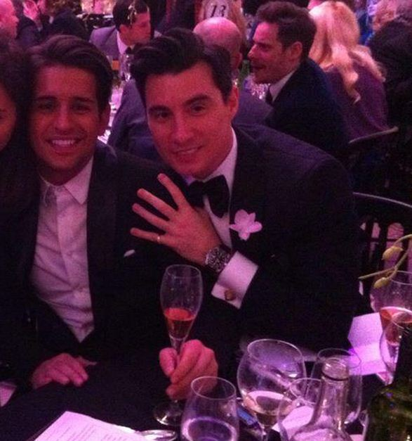 Ollie Locke denies claims he has been secretly dating male banker Anthony Watson behind TOWIE star Sam Faiers' back