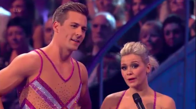 Dancing on Ice 2014: Suzanne Shaw