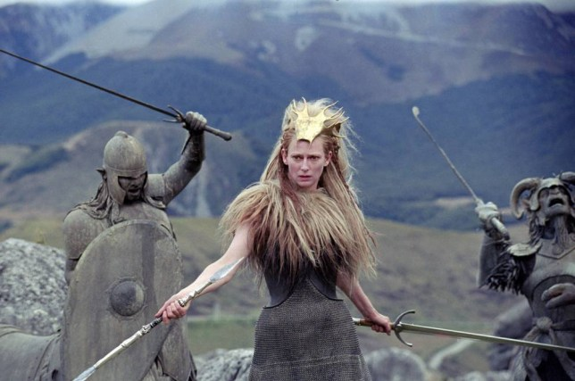 Tilda Swinton's mainstream movies include The Chronicles Of Narnia, in which she played the White Witch (Picture: Phil Bray)