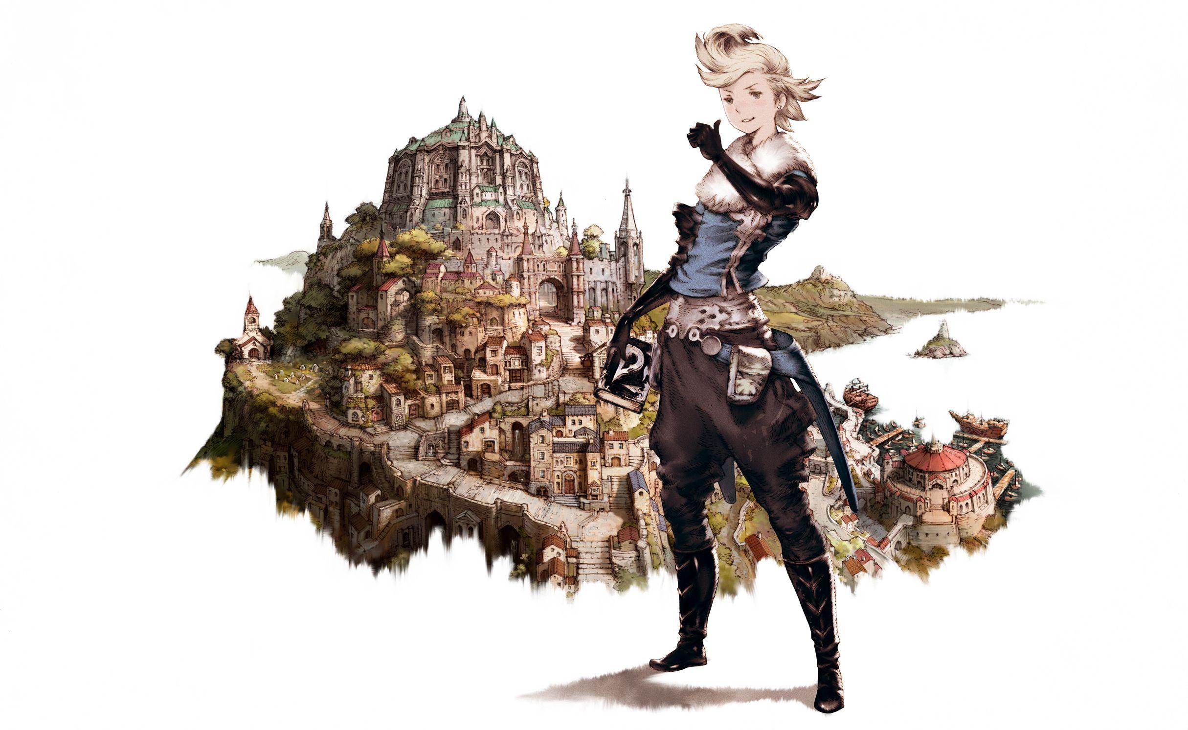 Bravely Default – more popular than Final Fantasy