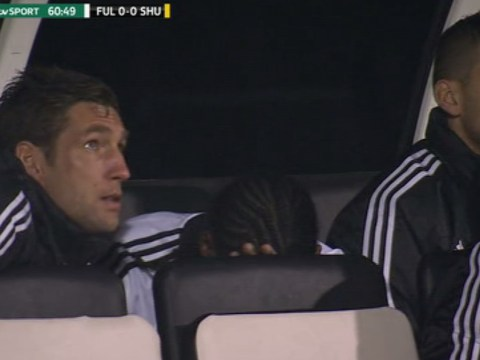 Fulham's Hugo Rodallega distraught at Sheffield United subbing