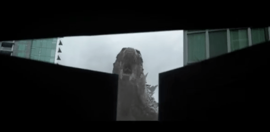 The trailer offers a sneak peek of Godzilla (Picture: Warner Bros/Legendary Pictures)
