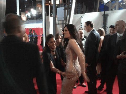 Nicole Scherzinger and Jessie J spark lustful lesbian fantasies after Brit awards red carpet grope