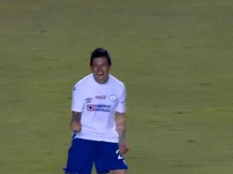 Mexican defender Rogelio Chavez scores the finest volley you're ever likely to see – video