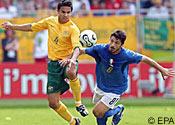 Australia v Italy