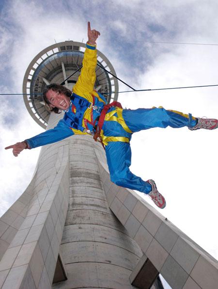 AJ Hackett bungee jump
