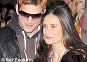 Demi Moore and beau
