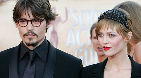 Johnny Depp is now happily settled with singer Vanessa Paradis