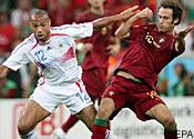 France v Portugal