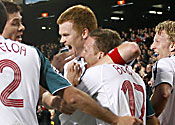 Riise and Bellamy