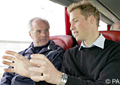 Prince William and Sven