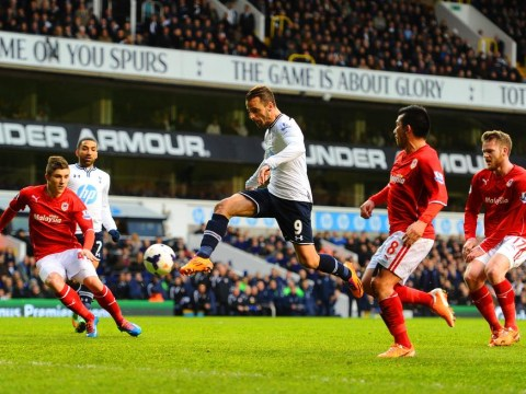 Tim Sherwood wants 20 more goals out of Roberto Soldado after Spaniard ends his Tottenham goal drought
