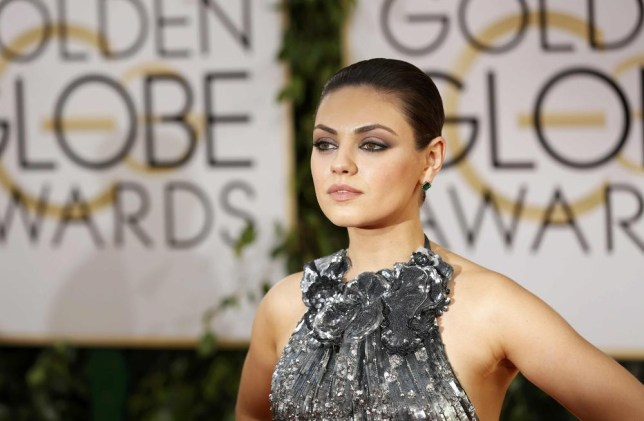 Actress Mila Kunis arrives at the 71st annual Golden Globe Awards in Beverly Hills, California January 12, 2014. REUTERS/Mario Anzuoni Mario Anzuoni/Reuters