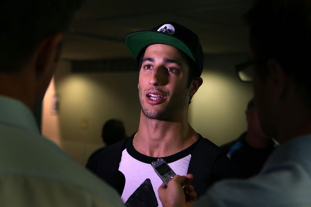 Daniel Ricciardo's been made the fuel guy in Melbourne