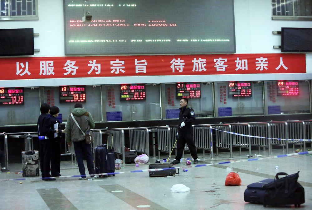 Knife massacre in Chinese railway station leaves 34 dead