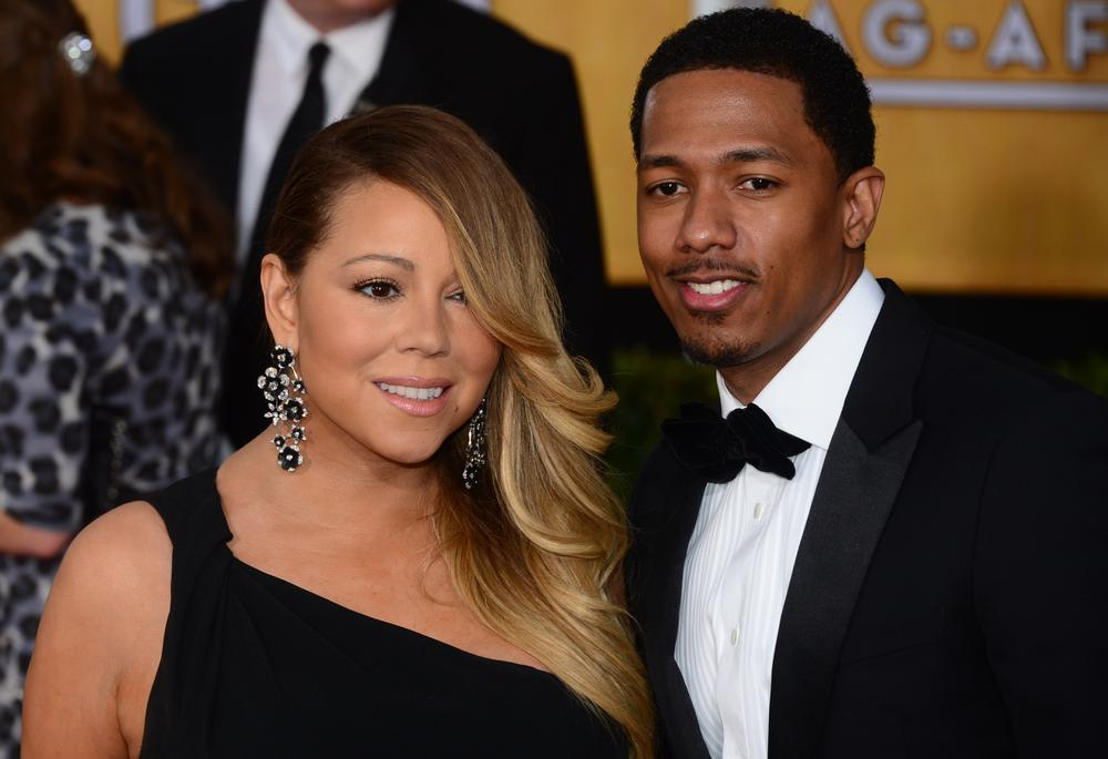 Mariah Carey's husband Nick Cannon buys her a blinging birthday present after bragging he once slept with Kim Kardashian
