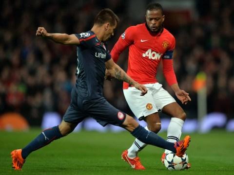 Manchester United star Patrice Evra in talks over Inter Milan transfer