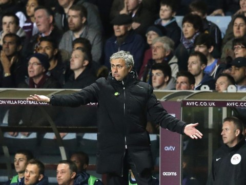Jose Mourinho calls on referee chiefs to ban Chris Foy from Chelsea matches after Aston Villa display