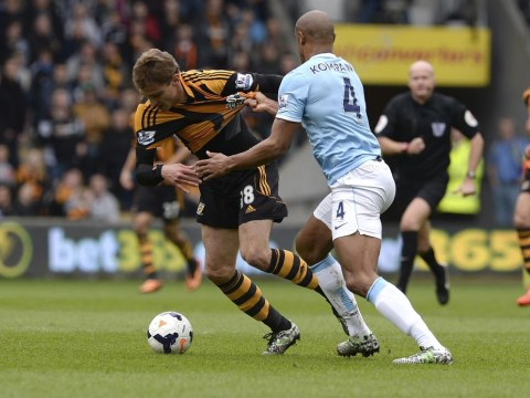 Hull City lacked courage to attack Manchester City, despite Vincent Kompany red card