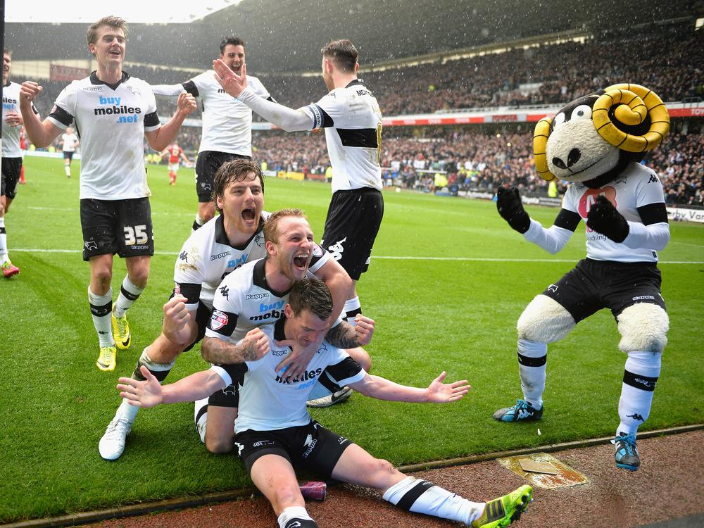 Derby's play-off push stays on track as Forest are felled