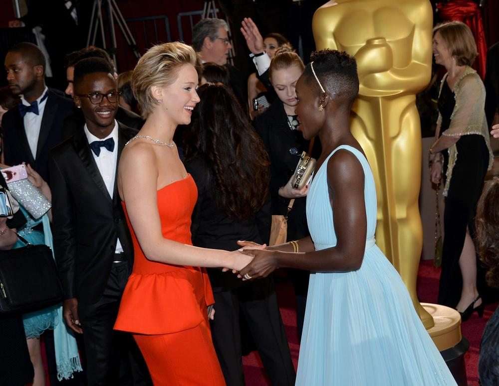 Never mind 12 Years a Slave, who wore what on the Oscars 2014 red carpet?