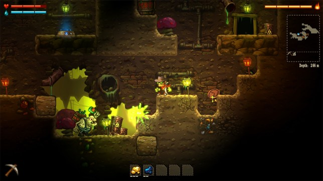 Steamworld Dig (PS4) - underground gaming
