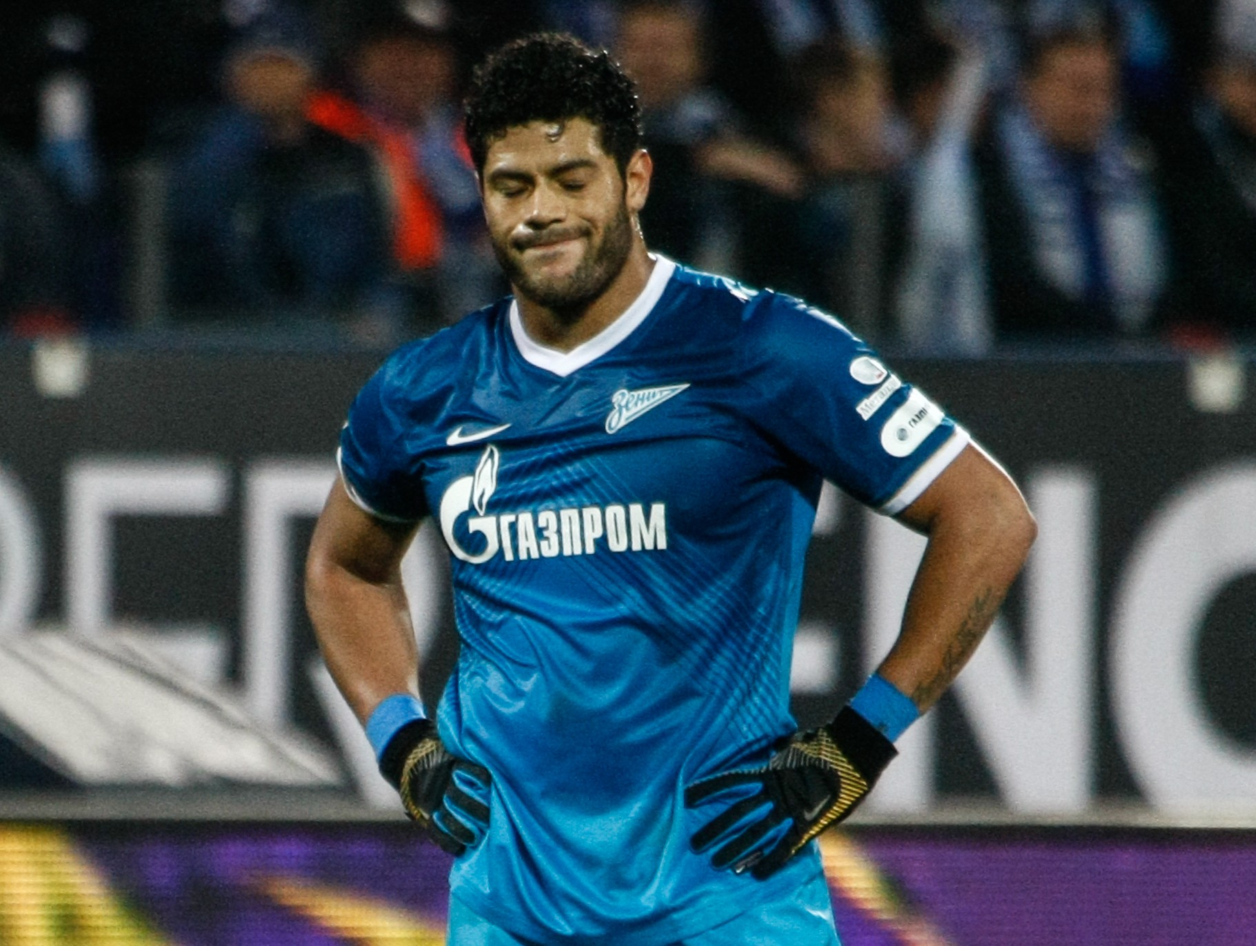 Hulk has pulled out of Saturday's draw (Picture:Getty)