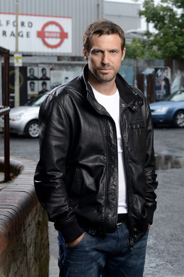 EastEnders Jake Stone played by Jamie Lomas (Picture: BBC)
