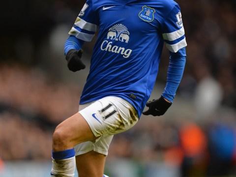 Tottenham eye summer transfer bid for Everton ace Kevin Mirallas