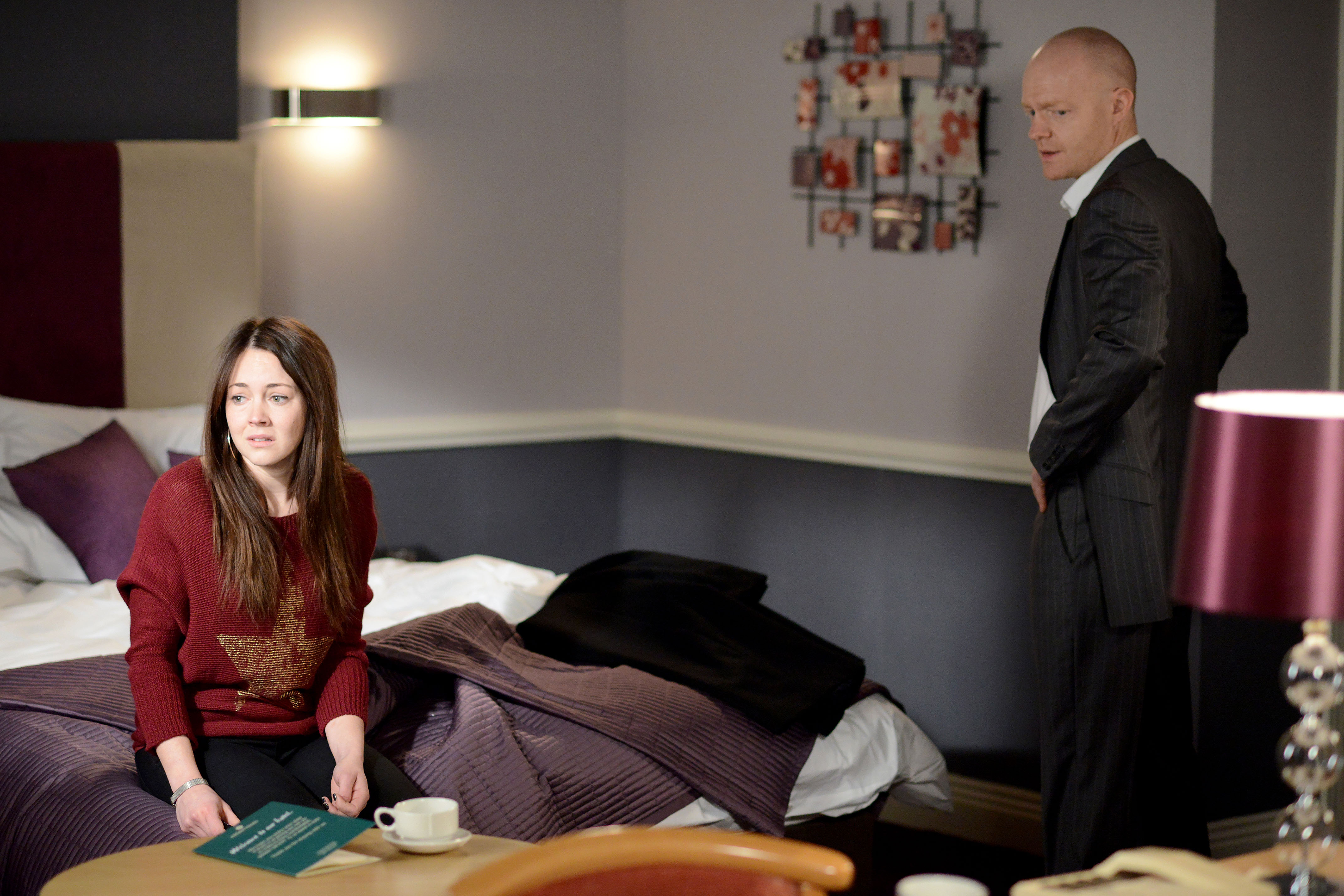 EastEnders spoiler: Stacey and Max rekindle feelings with passionate kiss