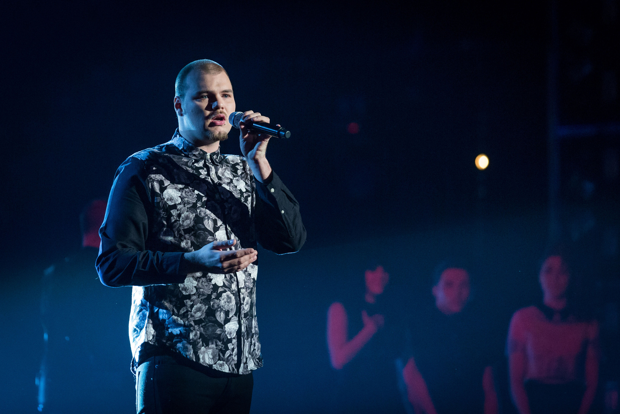 The Voice's Chris Royal: 'People thought I was related to the queen'