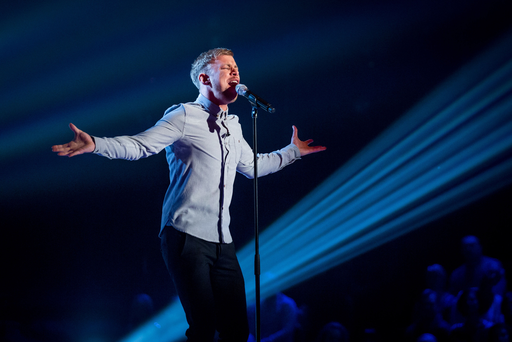 Lee Glasson: I want to win The Voice and nab Kylie for a 'dark' duet