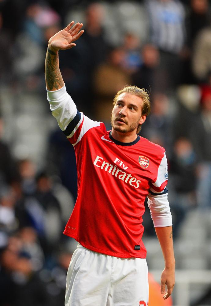 Clubs think I'm a 'psycho', admits Arsenal forward Nicklas Bendtner