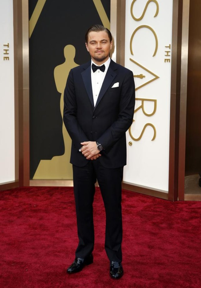 Leonardo DiCaprio has been nominated four times for an Oscar but never won (Picture: Reuters)