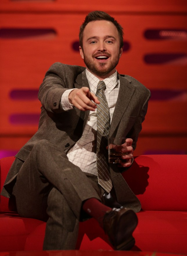 Aaron Paul says he will definitely be back as Jesse Pinkman (Picture: PA)