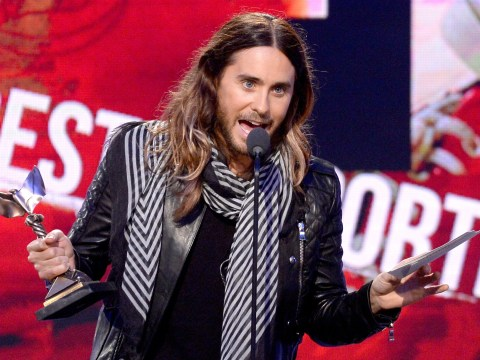Jared Leto picks up Independent Spirit Award, thanks 'future ex-wife Lupita Nyong'o'