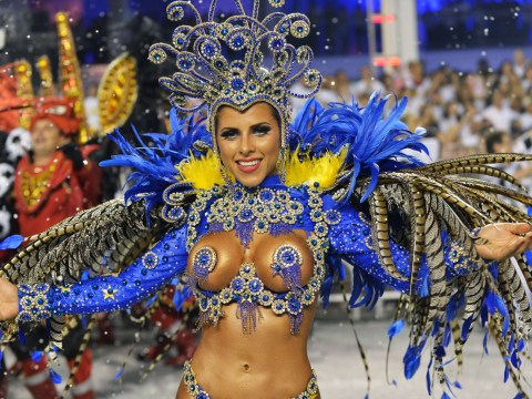 Pictures: Brazil rocks to the carnival beat