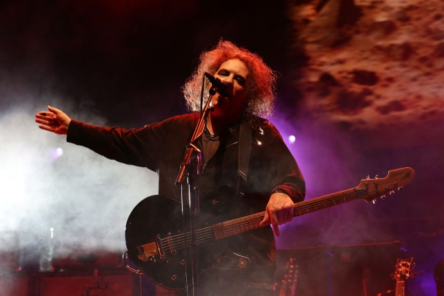 Robert Smith performs at London's Royal Albert Hall (Picture: PA)