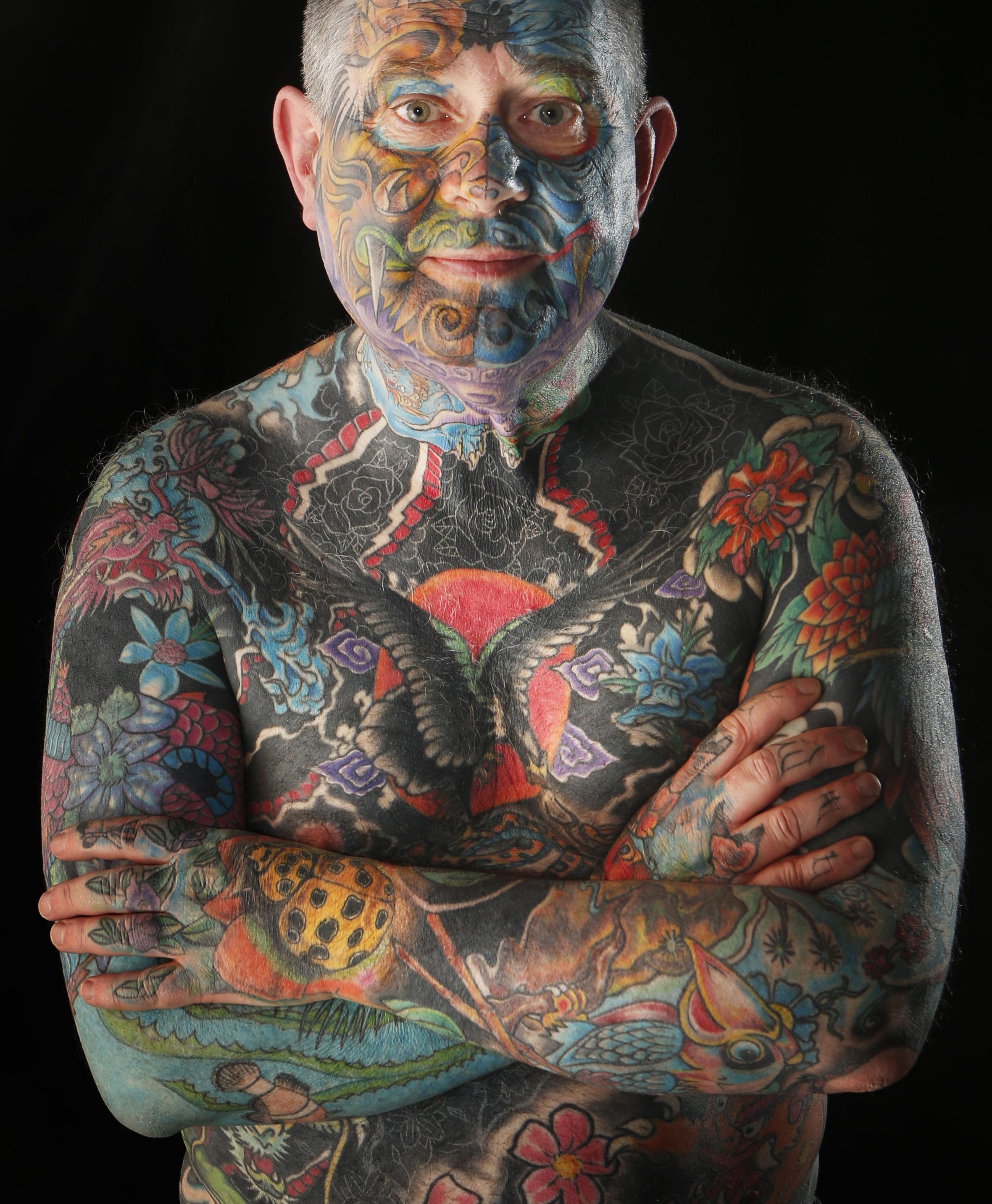 Tattoo Artists Attend International Scottish Tattoo