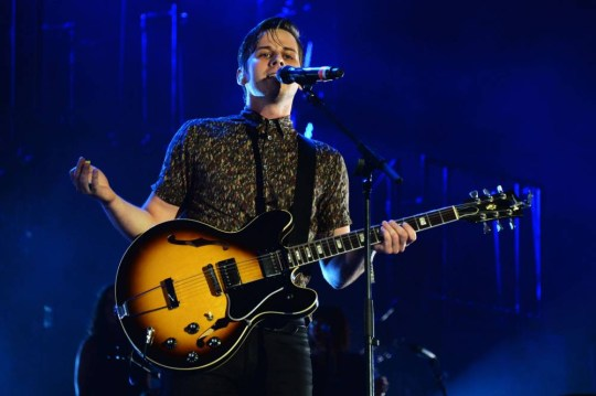 Loner: Mark Foster said travelling on his own after the band's tour influenced his approach to their second album (Picture: Getty)
