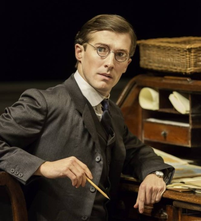 Gwilym Lee plays increasingly dejected civil servant Leonard (Picture: Johan Persson)