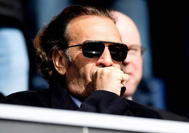 LONDON, ENGLAND - MARCH 01: Prospective Leeds owner Massimo Cellino looks on prior to the Sky Bet Championship match between Queens Park Rangers and Leeds United at Loftus Road on March 1, 2014 in London, England. (Photo by Ben Hoskins/Getty Images)