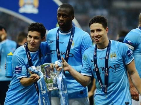 Samir Nasri targets Quadruple after Manchester City lift Capital One Cup