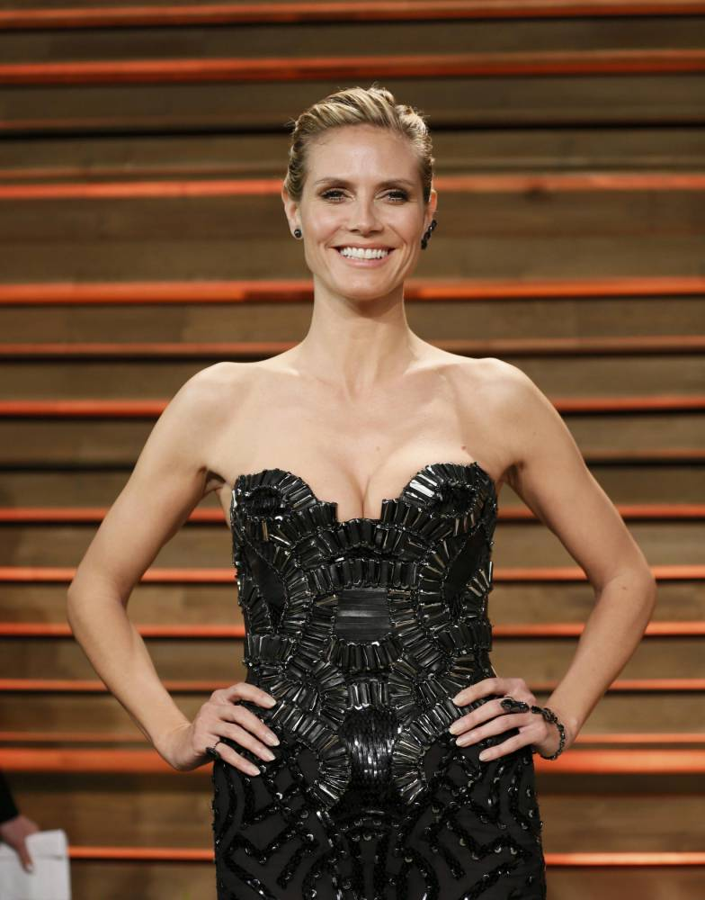 We can see you: Heidi Klum 'spotted kissing' rumoured new beau at Vanity Fair party