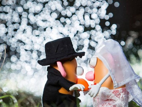 From Toy Story to love story: Father stages Potato Head wedding for son