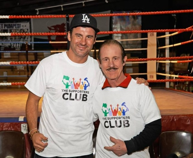 Joe Calzaghe and father and former trainer Enzo