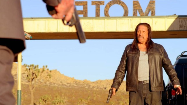 Danny Trejo stars in the excruciatingly bad Bullet (Picture: supplied)