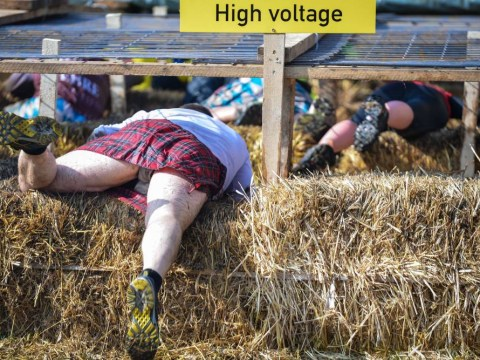 Pictures: Braveheart Battle extreme run in Muennerstadt, Germany