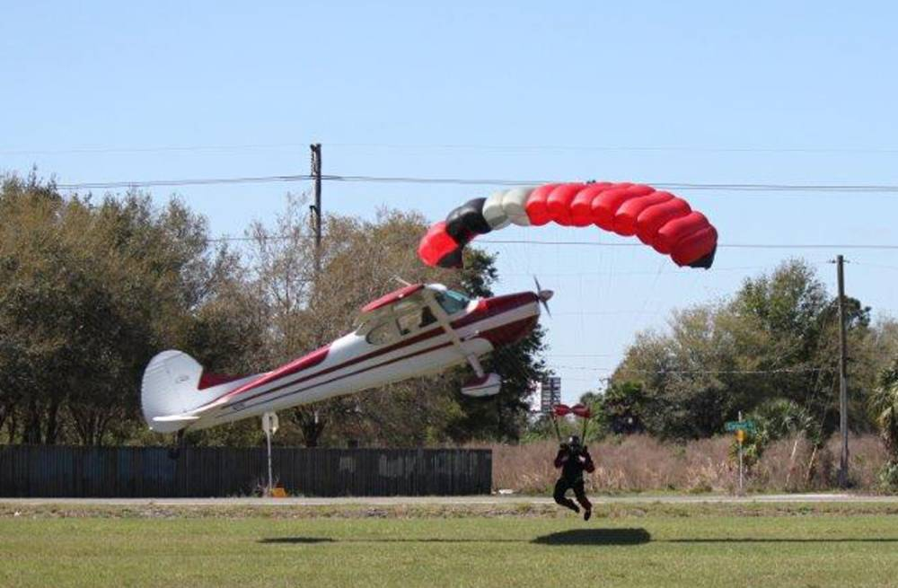 Skydiver and pilot miraculously survive mid-air collision