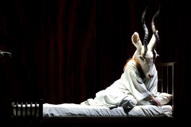 Emily Magee plays the half-human Empress in Die Frau ohne Schatten (Picture: Brescia/Amisano – Teatro alla Scala)